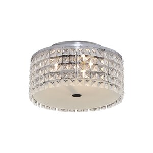 Harmon 3-Light Flush Mount