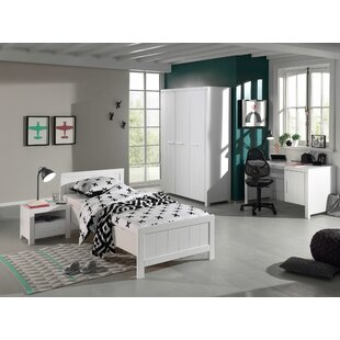 Eddy 4 Piece European Single Bedroom Set By Isabelle & Max