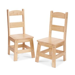 11 Solid Wood Preschool Chair (Set of 2) by Melissa & Doug