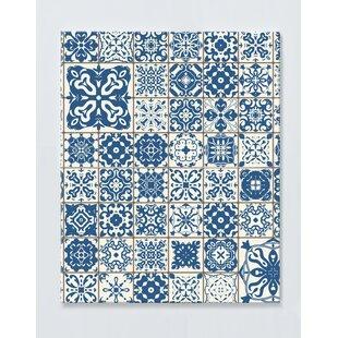 Mosaic Motif Magnetic Wall Mounted Cork Board By Ebern Designs
