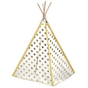 Metallic Dot Kids Pop-Up Play Teepee with Carrying Bag by Heritage Kids