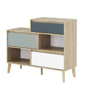 Aliya 3 Drawer Combi Chest By Mikado Living