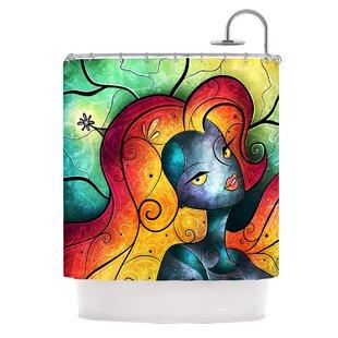 KESS InHouse Andromeda Shower Curtain