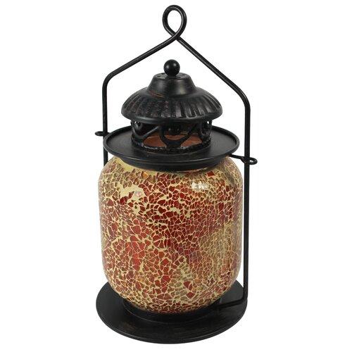 Laterne Mosaic aus Metall World Menagerie | Dekoration > Kerzen und Kerzenständer > Laternen | World Menagerie