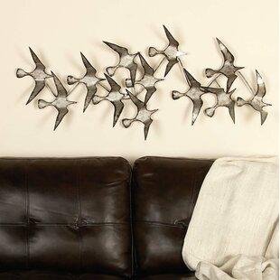 Metal Bird Wall Décor