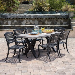 Stockholm Outdoor 7 Piece Dining Set