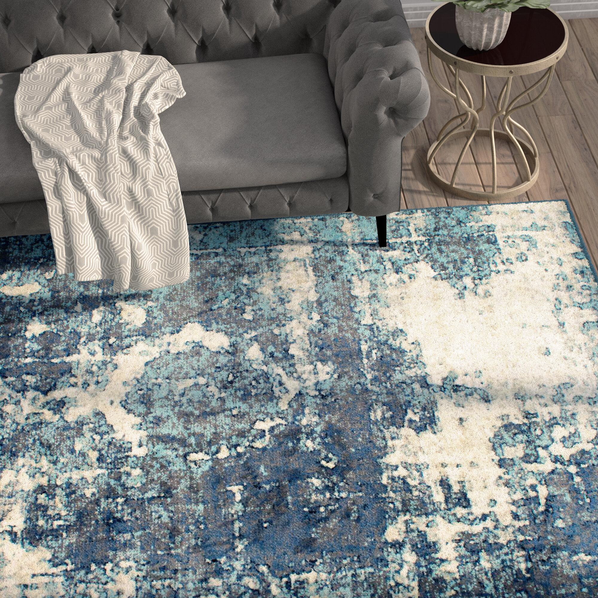 Trent Austin Design Montross Blue Area