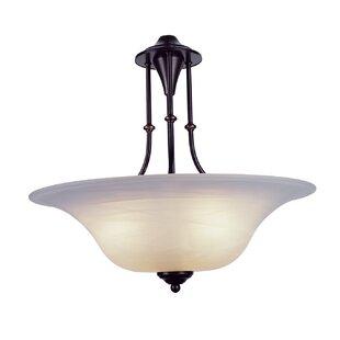 Winston Porter Myranda 3-Light Bowl Pendant