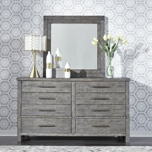 Cortinas 8 Drawer Dresser with Mirror