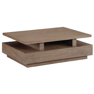 Hadrian Rectangular Coffee Table with Casters