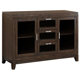 Tereza Glass Drawer Front Sideboard by Darby Home Co