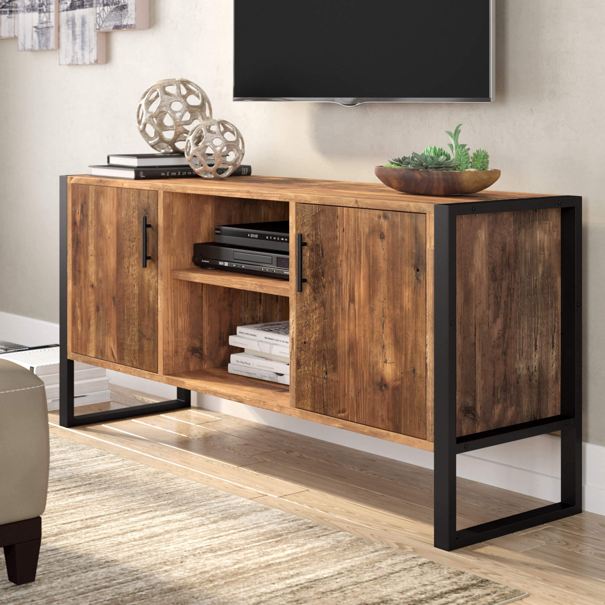 Solid Wood Tv Stands Entertainment