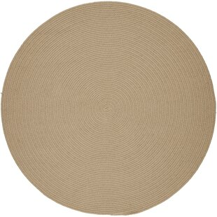 Smyth Hand-Braided Beige Indoor/Outdoor Area Rug