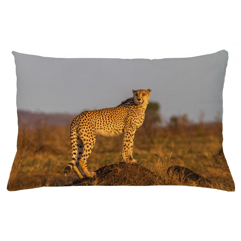 East Urban Home Safari Indoor Outdoor Lumbar Pillow Cover Wayfair