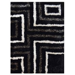 Reviews Haveman Hand-Tufted Black/Beige Area Rug ByOrren Ellis