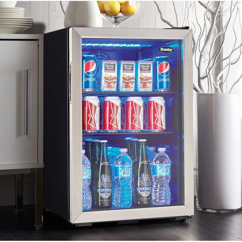 Danby 95 Can Freestanding Beverage Refrigerator Reviews Wayfair