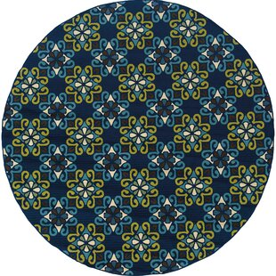 Chesser Yellow/Blue Indoor/Outdoor Area Rug