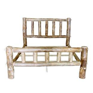 Mountain Woods Furniture Rustic Arts® Platform Bed