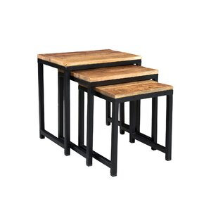 Millwood Pines Nathaniel 3 Piece Nesting Tables