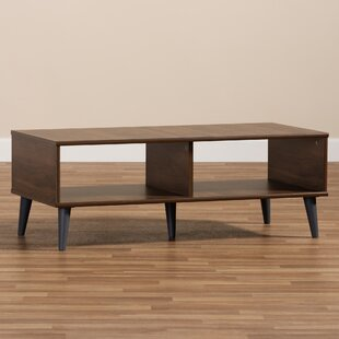 Braddy Wooden Coffee Table by George Oliver