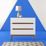 Cravens 3 Drawer Standard Dresser/Chest by Hashtag Home