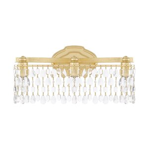 Destrey Traditional 3-Light Vanity Light