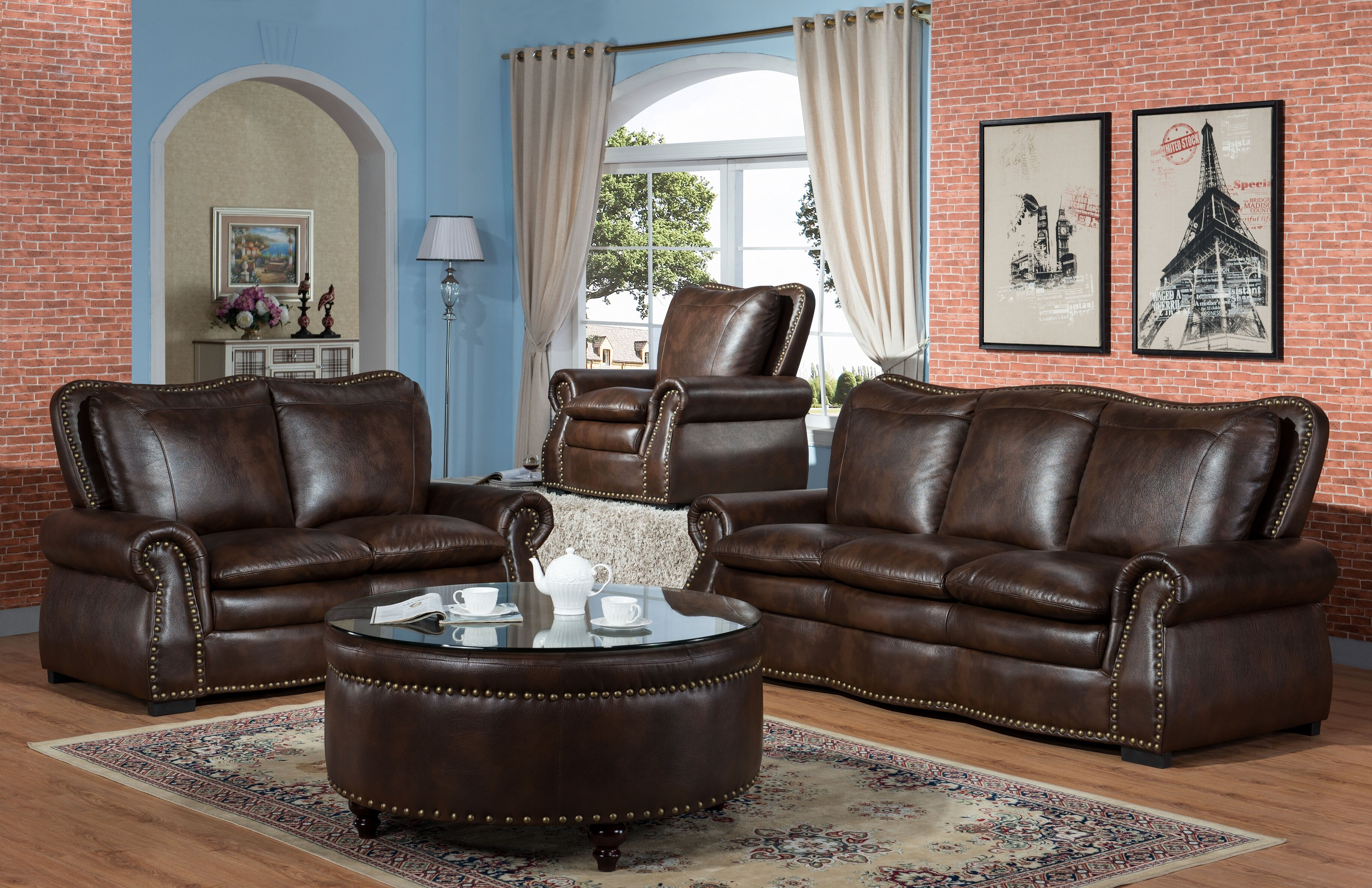 Ultimate Accents American Heritage 2 Piece Living Room Set & Reviews