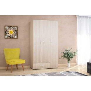 Cabral 3 Door Wardrobe By 17 Stories