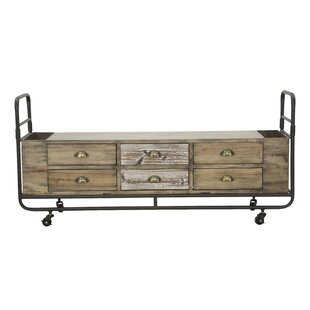Carnes Metal Storage Bench By Williston Forge