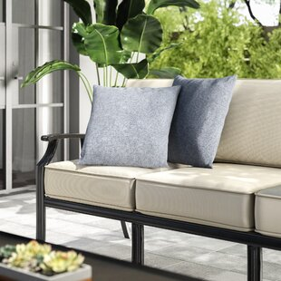 Ettinger Water Resistant Square Outdoor Throw Pillow (Set Of 2)