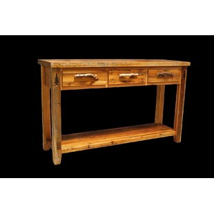 Loon Peak Jorgensen 3 Drawer Console Table