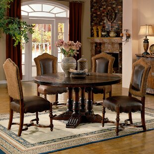 Eastern Legends Burgundy Dining Table