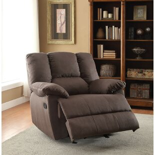 A&J Homes Studio Fenway Manual Glider Recliner
