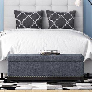 Warner Robins Upholstered Storage Bench by Latitude Run