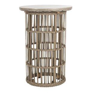 Lennon Concrete Side Table By World Menagerie