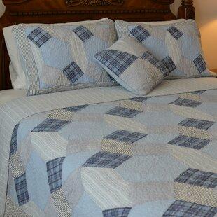 August Grove Glenda Patchwork Reversible Quilt