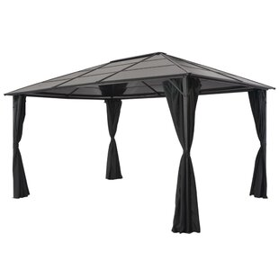 Malad 4m X 3m Aluminum And Steel Party Tent By Sol 72 Outdoor