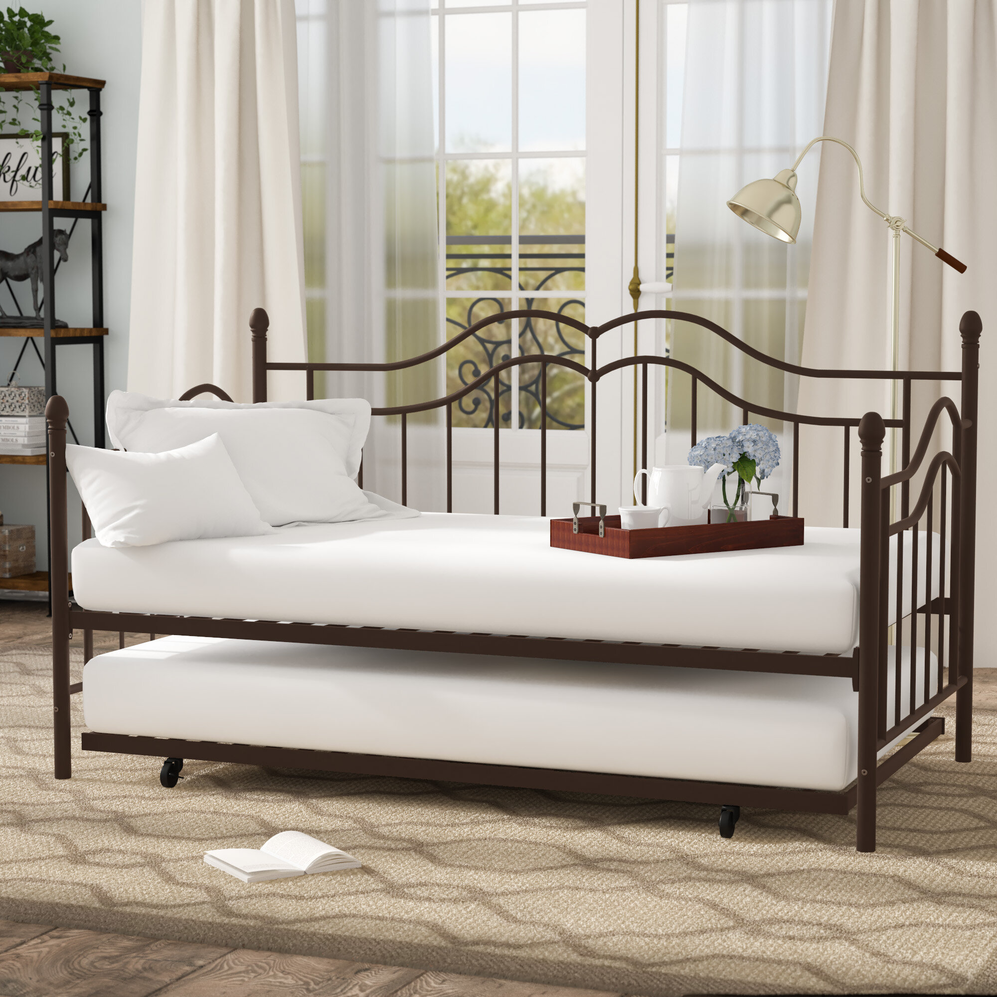 Andover Mills Daybed With Trundle Reviews Wayfair