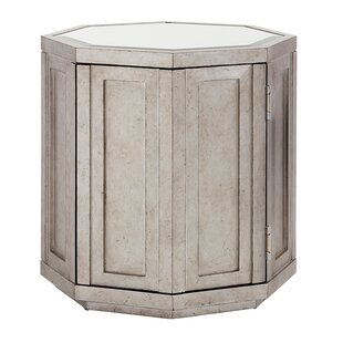 Best Price Ariana Rochelle Octagonal End Table with Storage by Lexington