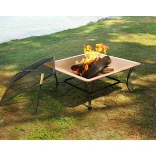 Corral Copper Wood Burning Fire Pit