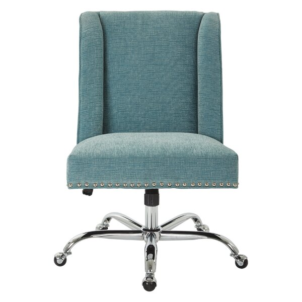 inspiredbassett alyson mid-back desk chair & reviews | wayfair