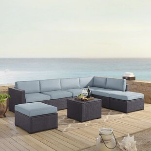 Dinah 6 Piece Sectional Set with Cushions