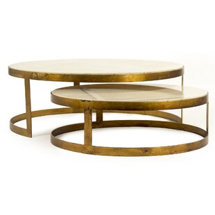 Zentique Fae Coffee Table Set (Set of 2)