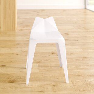 Metro Lane White Seat Bar Stools