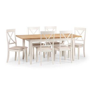 Isabelle Dining Set With 6 Chairs By August Grove
