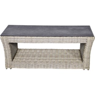 Aura Rattan Coffee Table By Lesli Living