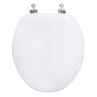 Ginsey Double Bevel Round Toilet Seat