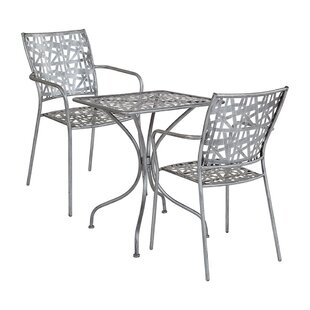 Tanksley 3 Piece Bistro Set