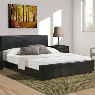 Hindes Upholstered Platform Bed by Ebern Designs