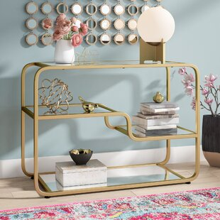 Willa Arlo Interiors Dacia Mirror Console Table